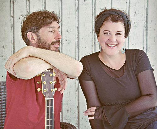 Das Duo MayaMo & Sascha August